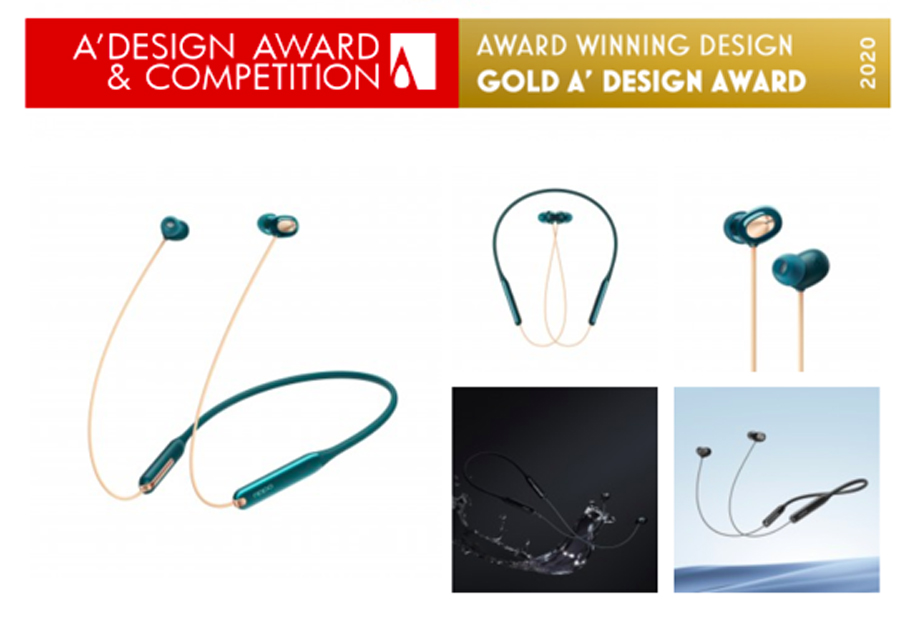 OPPO Wireless Headphone Models Win 1 Gold, 2 Platinum in A'Design Awards