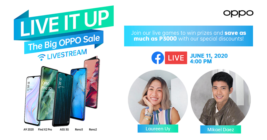 Score Special Price Drops and Win Awesome Prizes at the ShOPPO Livestream With Mikael Daez and Laureen Uy