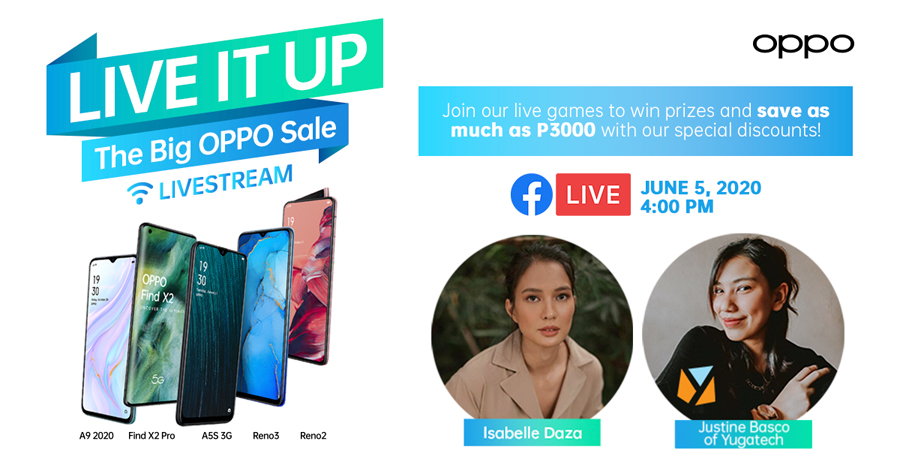Shop, Play and Score Special Discounts and Awesome Prizes at the Weekly ShOPPO Livestream With Belle Daza and Justine Basco
