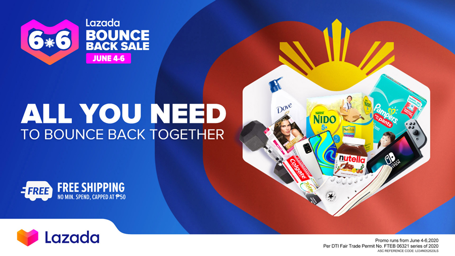 Unbox Happiness With Lazada's 6.6 Bounce Back Sale!