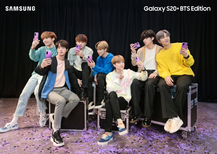 The Wait Is Over: SAMSUNG Galaxy S20+ BTS Edition Is up for Pre-Order, Starting Tomorrow June 24!