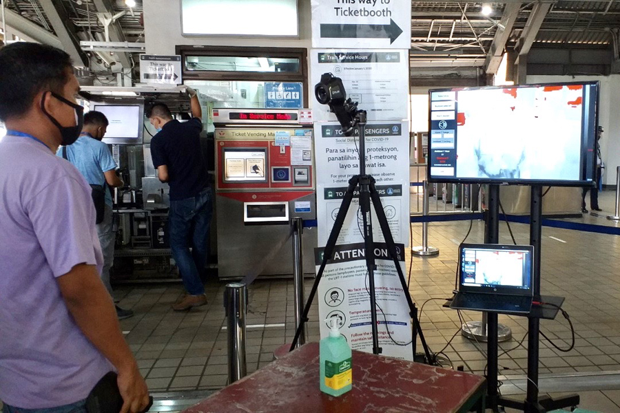 LRMC Rolls out Thermal Screening System at LRT-1 Stations