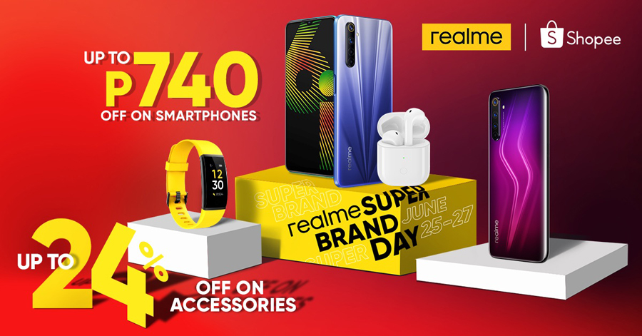 Realme Philippines and Shopee Hold Super Brand Day, Offer Discounts up to 24% and Other Exciting Promos