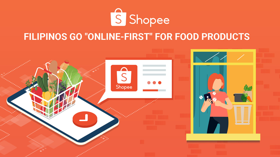 "Shopee Sees ""Online-First"" Shift for Food Products, as Filipinos Adapt to the New Normal"