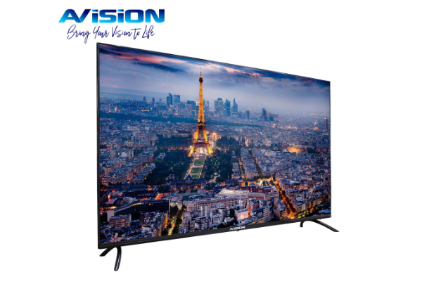Enjoy 50% off on the Avision 55 Inch Frameless 4K Smart Digital TV is on Shopee