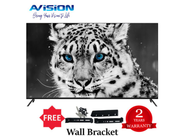 Get the Avision 65-inch Frameless Smart TV during the Shopee 7.7 Sale