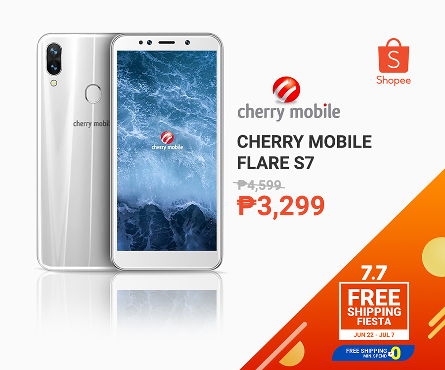 Cherry Mobile Flare S7 for less than P10k at Shopee 7.7 sale