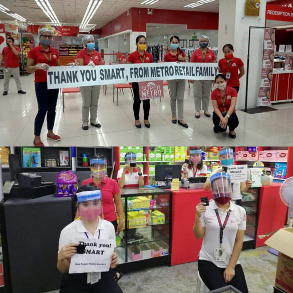 Partner Retail Store Frontliners Receive Assistance From Smart