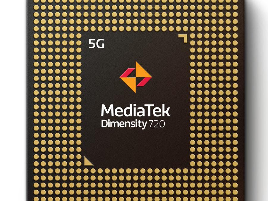 MediaTek Announces Dimensity 720, its Newest 5G Chip For Premium 5G Experiences on Mid-Tier Smartphones