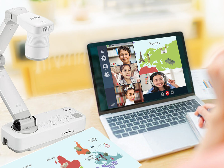 Level up the Virtual Classroom Experience With Epson's ELPDC21 Document Camera