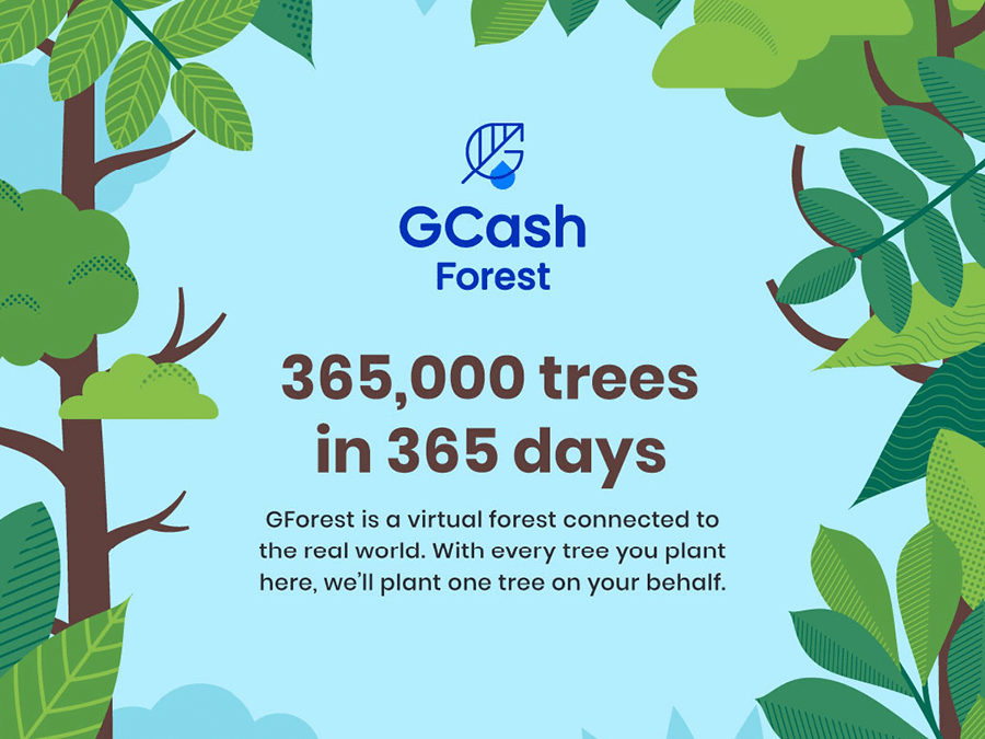 GCash Makes It Easier for Green Heroes to Digitally Plant Trees