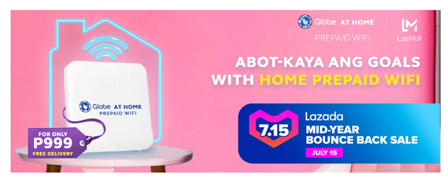 Recreate New Normal With Globe's Better Days, Better Deals Promo
