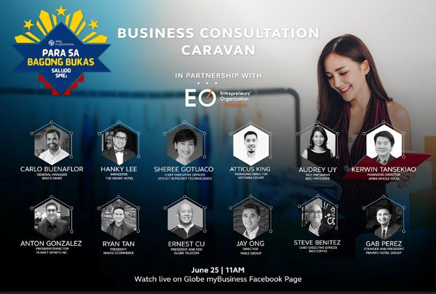 Globe Kicks off Tribute Campaign for Local SMEs With Special FB Live Event and Inspirational Video