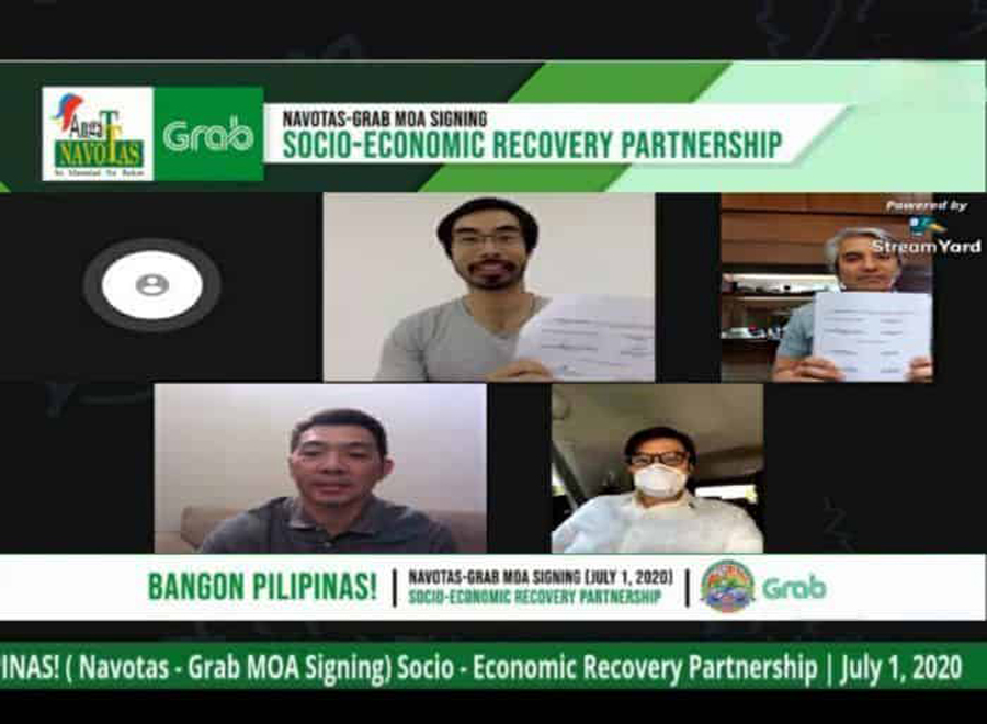Grab, Navotas Provides Thousands of Livelihood Opportunities to Help Navotenos Recover From the Pandemic