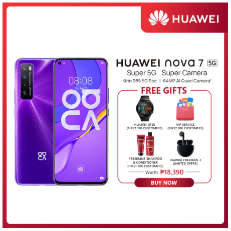 Four Huawei devices to check on Shopee on July 31