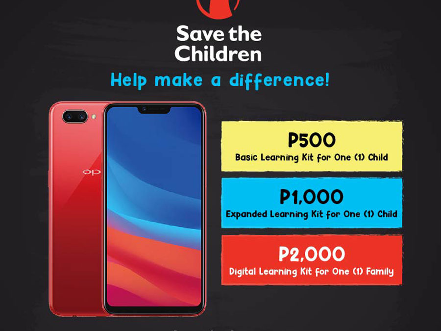 OPPO x Save the Children Fundraising Initiative