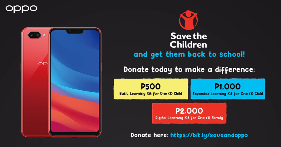 OPPO Extends Partnership With Save the Children to Raise Funds for Project Aral