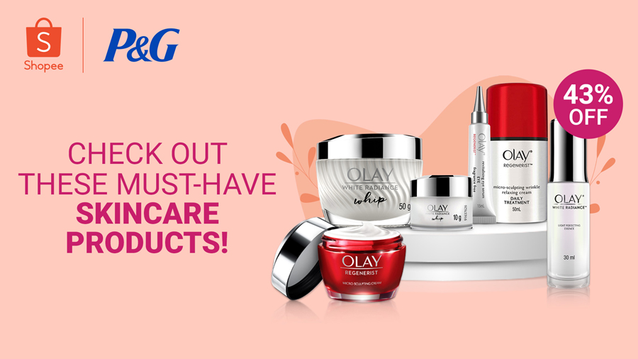 Olay Launches 3-Piece Skinfusion Korean Mask Exclusively on Olay Super Brand Day on Shopee