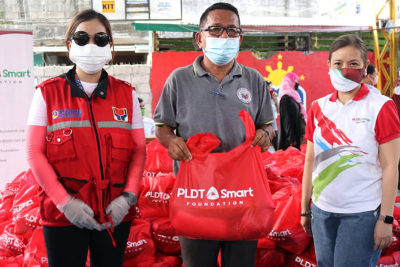 PLDT-Smart Foundation Partners With DSWD, UP Diliman to Support Communities in Quezon City