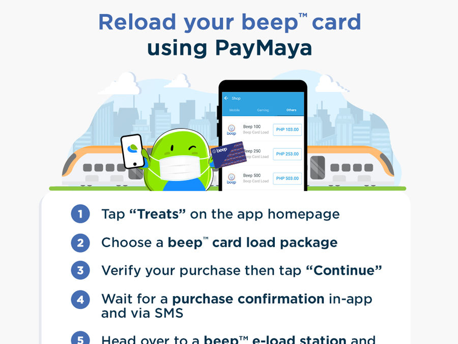 PayMaya and Beep Team up to Provide Safer, Contactless Commute for All