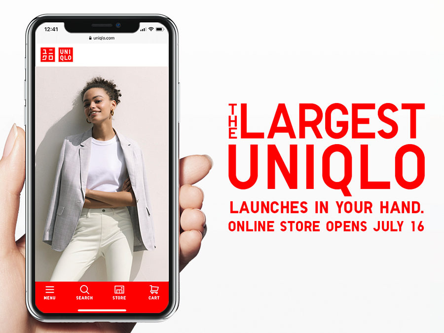 UNIQLO Sets to Open its Online Store with an Online Event on July 16