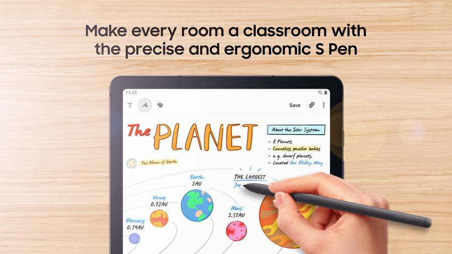 Here Are the Reasons Why the SAMSUNG Galaxy Tab S6 Lite Is the Perfect Learning Companion