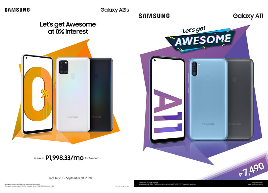 SAMSUNG Introduces the New and Affordable Galaxy A21s and A11!