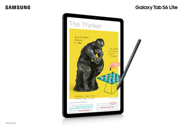 Empower New Kinds of Learning With the SAMSUNG Galaxy Tab S6 Lite, Now Available Nationwide!