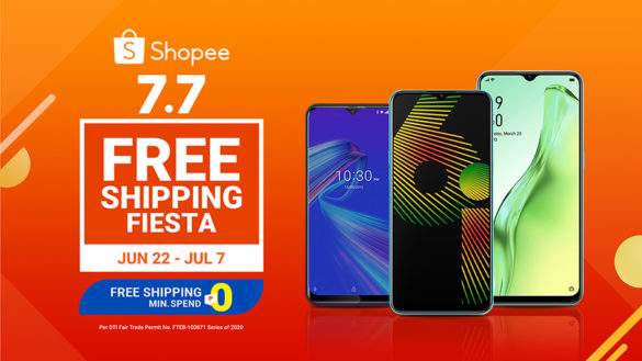 Smartphones for P10k and less at Shopee 7.7 sale