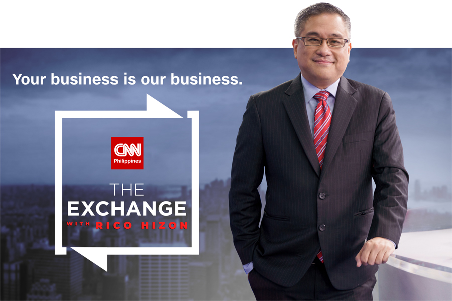 CNN Philippines' New Business Program the Exchange With Rico Hizon Airs Every Friday