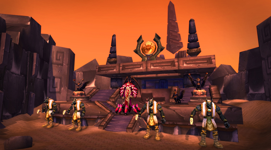 Ahn'Qiraj War Effort Now Underway in World of Warcraft Classic!