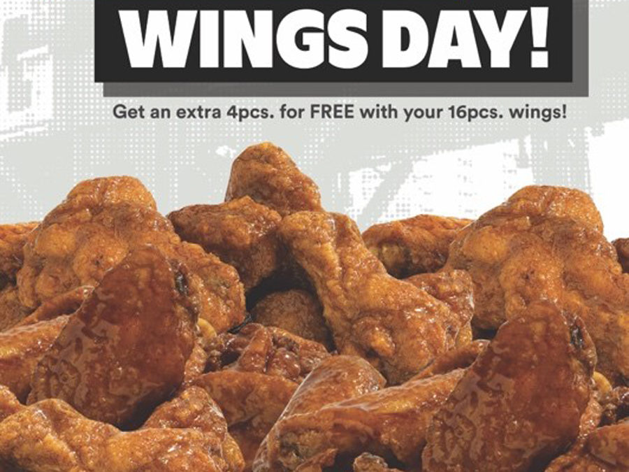 Yellow Cab National Wings Day!