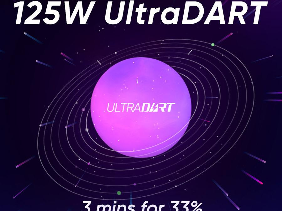 Realme Reveals New 125W UltraDART Flash Charging Technology