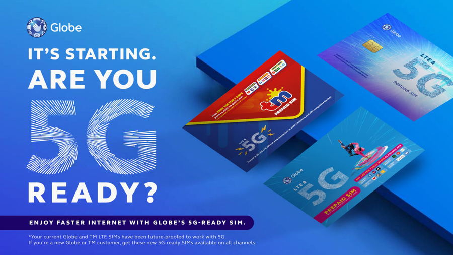 The World of 5G Is Within Your Reach With Globe's 5G-Ready Sims