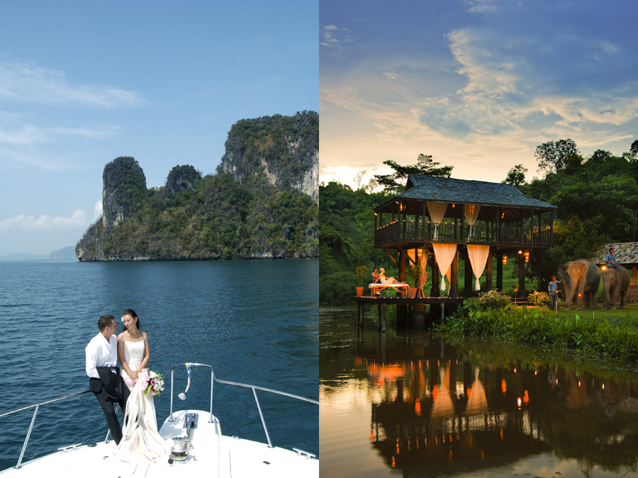 7 Wedding Destinations in Thailand That Double as Honeymoon Venues Too