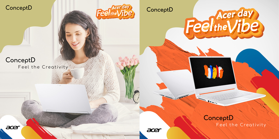 Feel the Vibe on Acer Day 2020