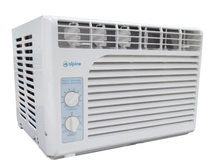 Buy the Alpine BW-5MJ09A Window Type Air Conditioner 0.5HP on Shopee for only P8,499 (that's 15% from the original SRP of P9,999).