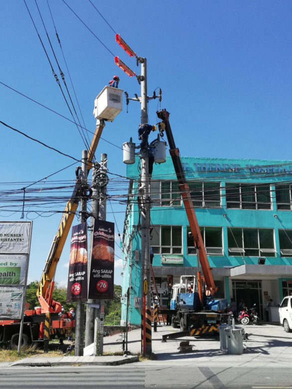Meralco Service Upgrade - Antipolo-Binangonan Center of Dialysis