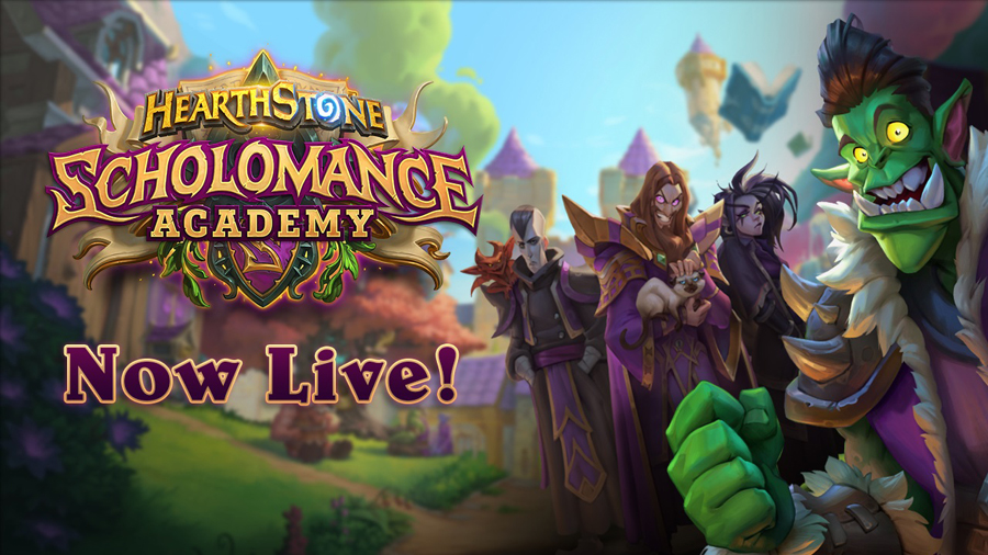 Class Is in Session for Hearthstone® Players—New Expansion Scholomance Academy Now Live!