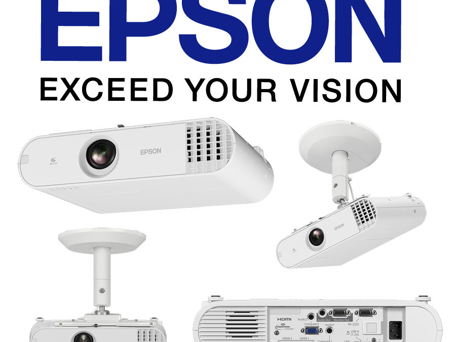 Epson Launches EB-U50 and EB-W50 Business Projectors for Quality Digital Signages Keeping Customers Engaged and Informed