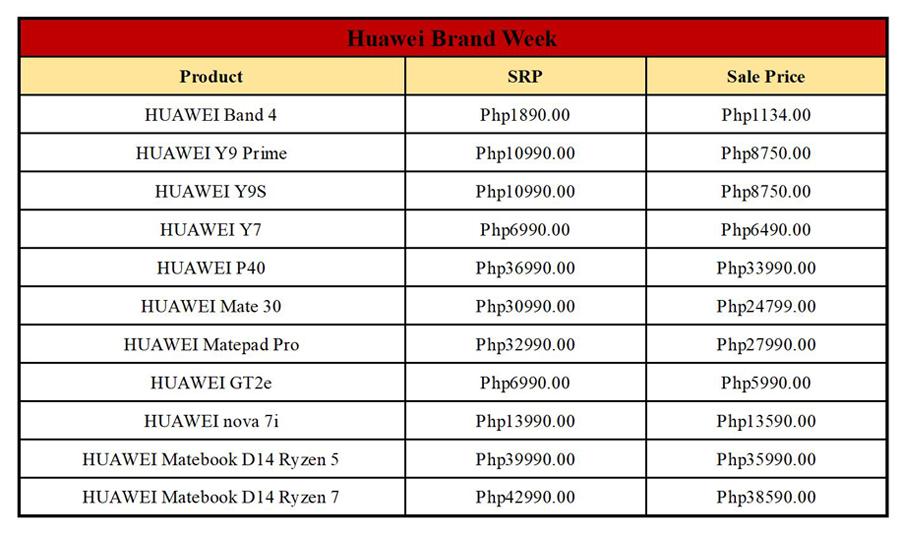 Score Amazing Tech Deals at Huawei's Brand Week on Shopee!