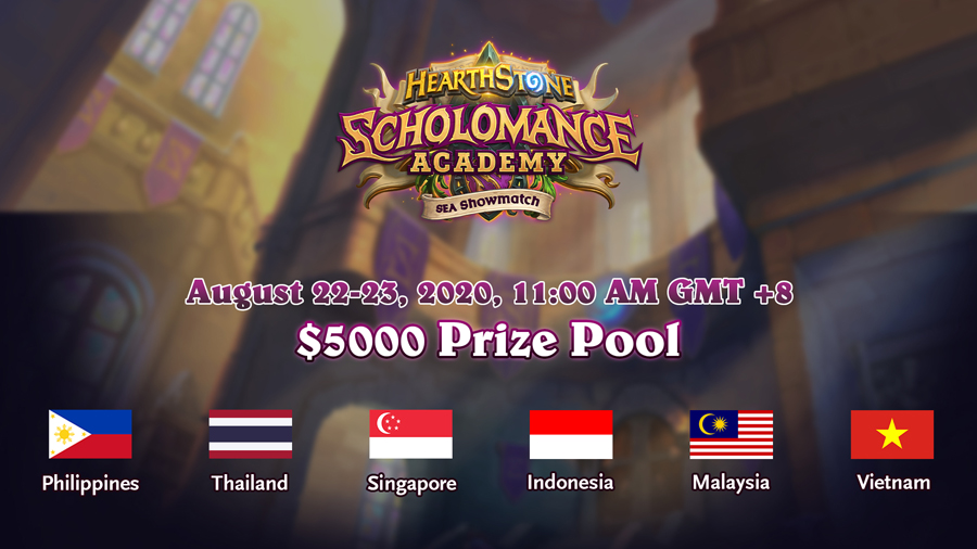 Hearthstone Scholomance Academy SEA Showmatch Is Coming This Weekend With Six Teams Going Head to Head!