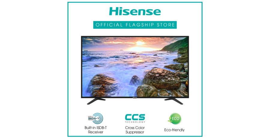 Enjoy discounts when you get the Hisense 43-inch TV during the Shopee 8.8 sale