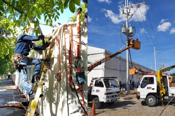 Meralco Network Service Upgrade - We Heal as One Center and LSI Shelter