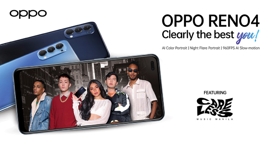 The all-new OPPO Reno4 Set to Launch Live with Careless Music Manila on August 14