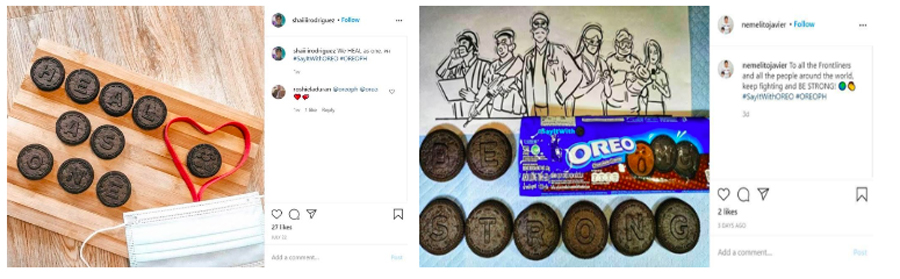 OREO Shares Smiles With Front Liners Through Emoji Cookies