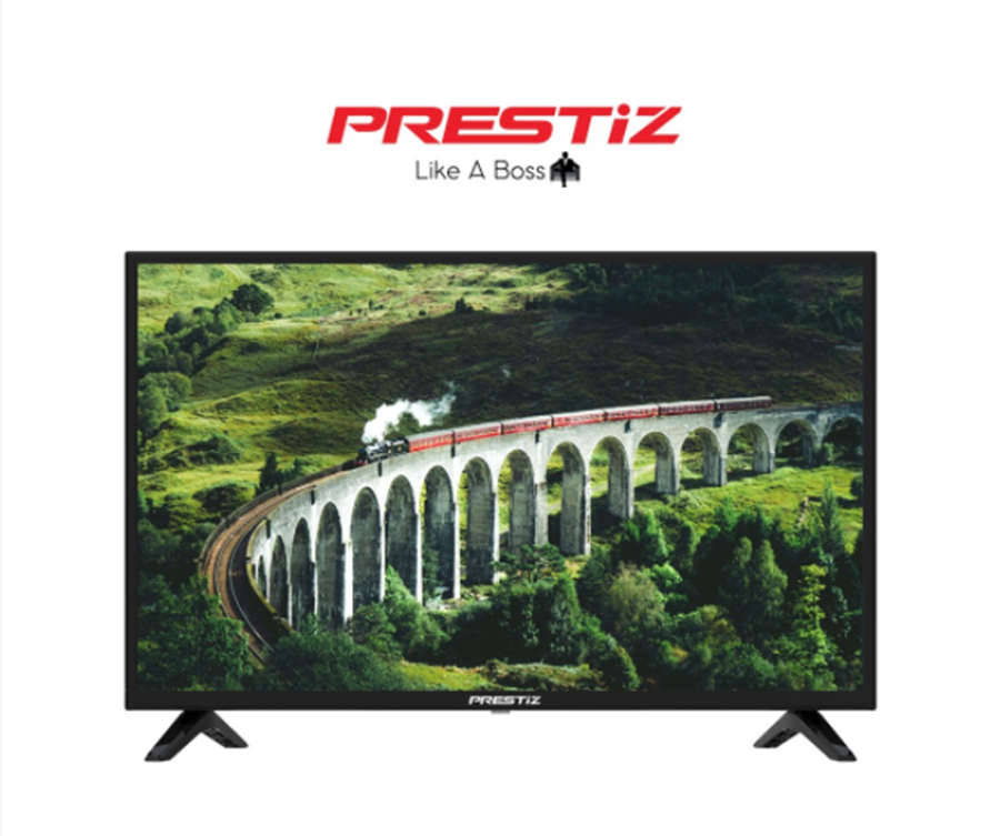 """Buy the Prestiz 32FG1100SBD 32"""" Smart Android Digital TV with Free Wall Mount / Bracket on Shopee for only P8,492 (that's 15% off from the original SRP of P9,990)."""