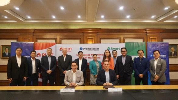 PLDT Enterprise CertifiesPromotexteras official A2P Partner