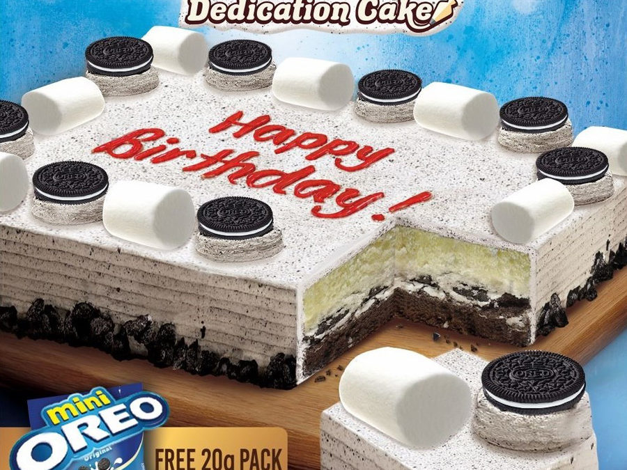Red Ribbon Launches Its NEW Cookies & Cream Dedication Cake for Yummy, Cookie-Creamy Celebrations!