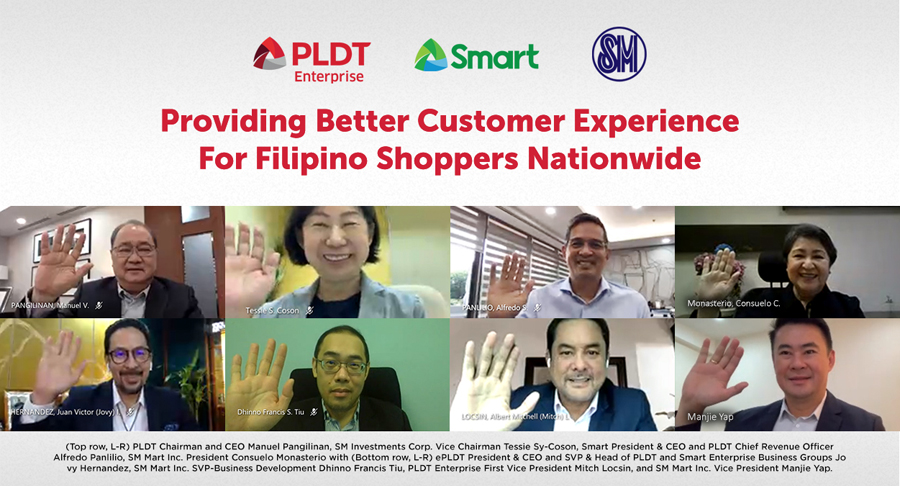 PLDT, SM Join Hands to Improve Customer Experience With the Launch of #14376 (I❤️SM) Hotline